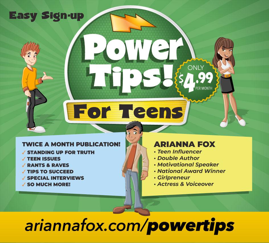 Arianna Fox Power Tips for Teens